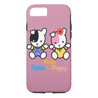 Hello Patch and Poppy iPhone7 case