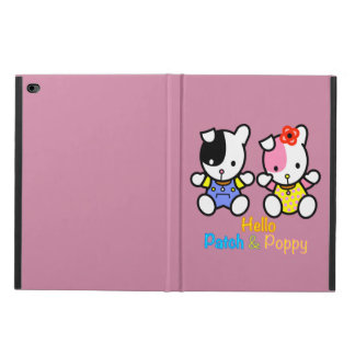 Hello Patch and Poppy the puppies Powis iPad Air 2 Case
