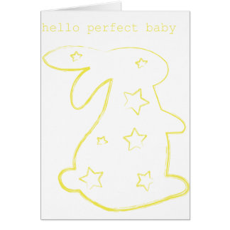 Hello Perfect Baby Card