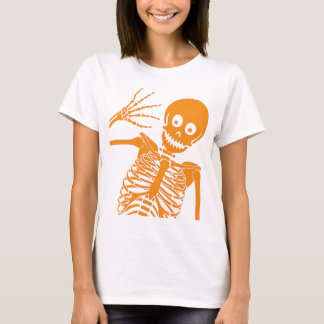 Hello Skeleton! Baby Doll T-Shirt
