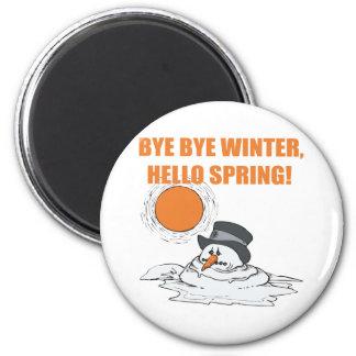 Hello Spring Magnet