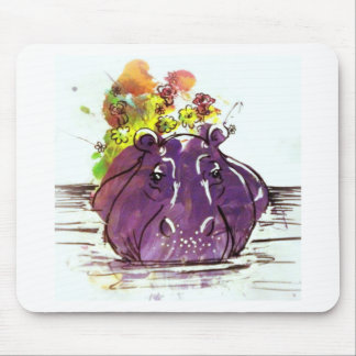 Hello Spring Mouse Pad