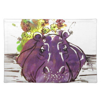 Hello Spring Place Mat