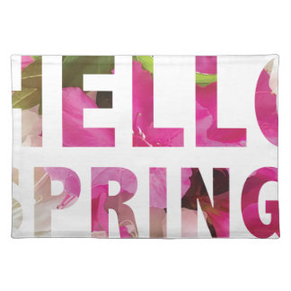 Hello Spring Placemats