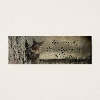 Hello Squirrel Mini Business Card
