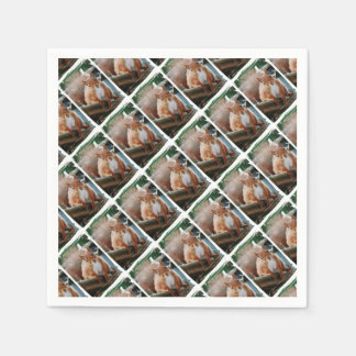 Hello Squirrel - Photography Jean Louis Glineur Paper Napkins