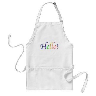 hello! standard apron