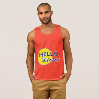 Hello Summer Men's Tank top