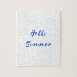 hello summer puzzle