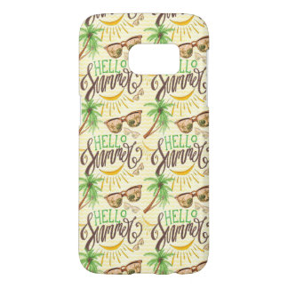 Hello Summer Samsung Galaxy S7 Case