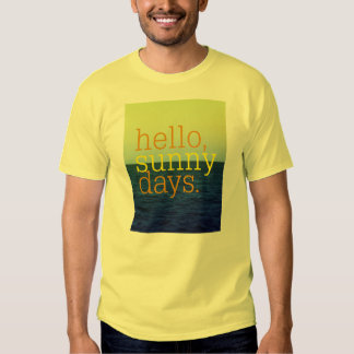 Hello, Sunny Days | Summer Spring Vacation Tee