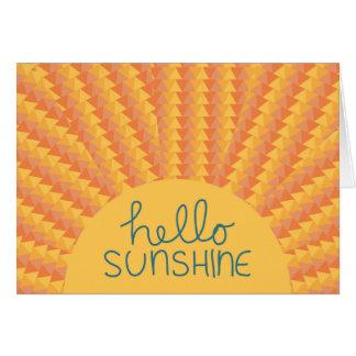 Hello Sunshine - Card