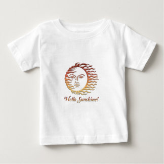 HELLO SUNSHINE Fun Sun Summer Baby T-Shirt