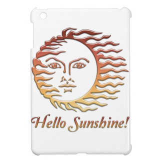 HELLO SUNSHINE Fun Sun Summer Cover For The iPad Mini