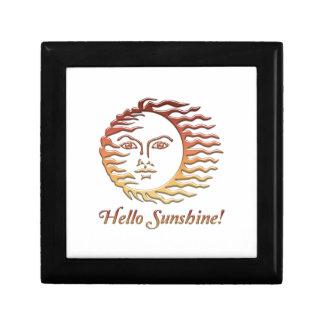HELLO SUNSHINE Fun Sun Summer Gift Box