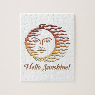 HELLO SUNSHINE Fun Sun Summer Jigsaw Puzzle