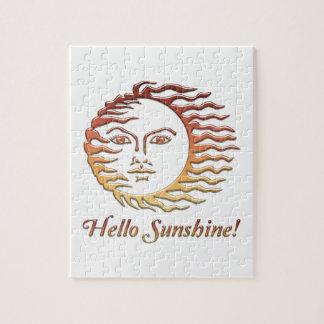HELLO SUNSHINE Fun Sun Summer Puzzle