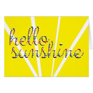 Hello Sunshine! Greeting Card