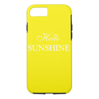 Hello Sunshine I phone iPhone 7 plus case cover