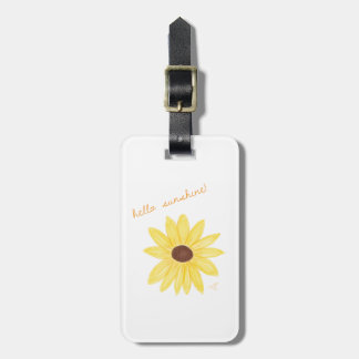 Hello Sunshine Luggage Tag