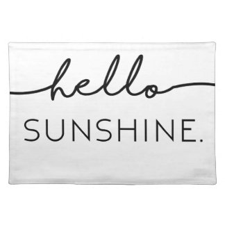 Hello Sunshine Place Mat
