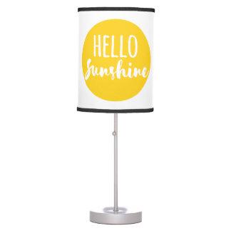 Hello Sunshine Table Lamps