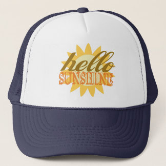 Hello Sunshine Trucker Hat Great for Summer