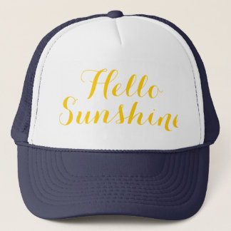 Hello Sunshine Women's Summer Trucker Hat