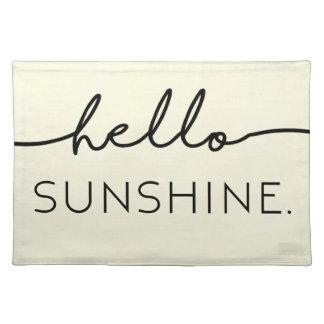 Hello Sunshine - Yellow Placemat