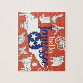 Hello Tennessee Jigsaw Puzzle