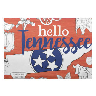 Hello Tennessee Place Mat