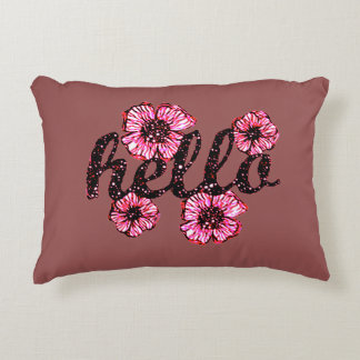 Hello There Accent Pillow