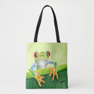 HELLO THERE Frog Tote