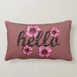 Hello There Lumbar Pillow