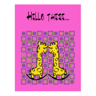 Hello there... postcard