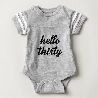 Hello Thirty Baby Bodysuit