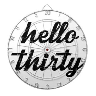 Hello Thirty Dartboard