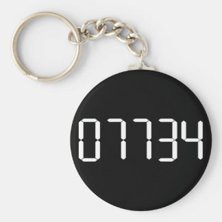 """HELLO"" - Upside-down Calculator Word KEYCHAIN"