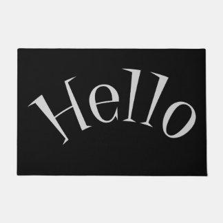 HELLO Welcome Door Mat