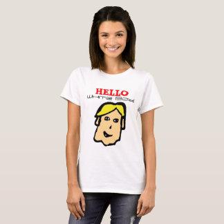 hello white boy! tshirt
