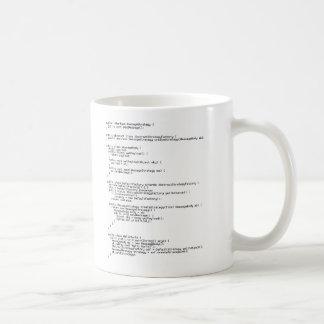 Hello World! Basic White Mug