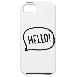Hello! World! I am here Case For The iPhone 5