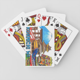 Hello World Japan playing cards