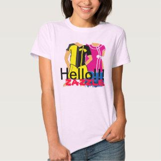 Hello Zazzle T-shirts