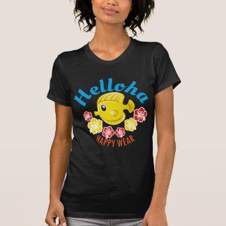 Helloha Quality Tropical Cloths With Fun And Aloha T-Shirt
