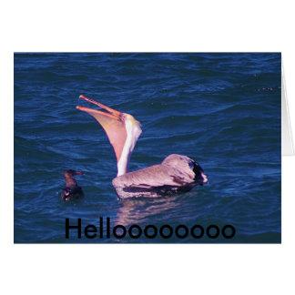 Helloooooo Card