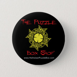 Hellraiser Puzzle Box 2 Inch Round Button