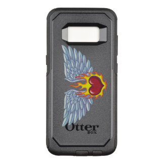Hell's Flames and Angel Wings OtterBox Commuter Samsung Galaxy S8 Case
