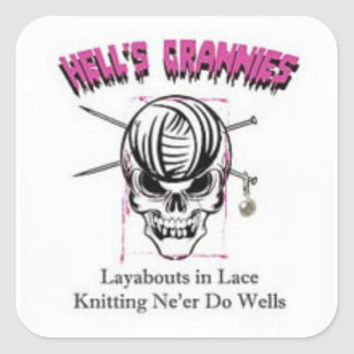 Hell's Grannies stickers