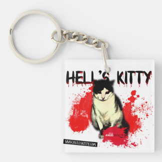 Hell's Kitty KeyChain